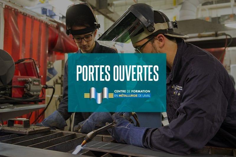 Portes ouvertes au Centre de formation en métallurgie de Laval