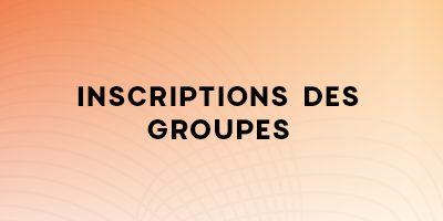 Inscriptions des groupes au Rendez-vous des métiers de la formation professionnelle à Laval
