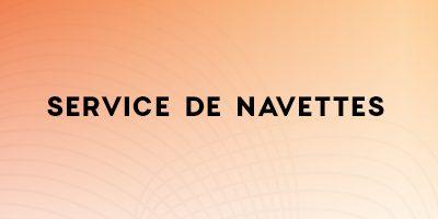 Service de Navettes au Rendez-vous des métiers de la formation professionnelle à Laval